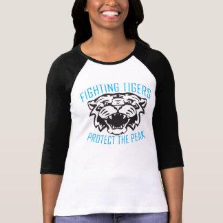 Camiseta Tigres que luchan