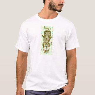 Camiseta Tiki que fuma