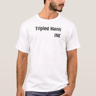 Camiseta TINTA maníaca triplicada