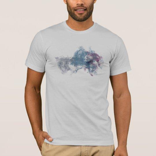 Camiseta Tinta moderna gris del Fox