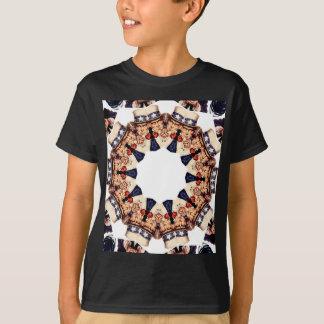 Camiseta Tío Sam que señala el caleidoscopio del dedo