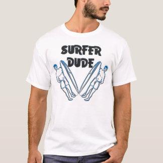 Camiseta Tipo de la persona que practica surf