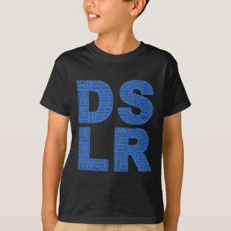 Camiseta Tipo texto de DSLR del error tipográfico