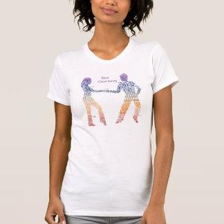 Camiseta Tipografía del oscilación de la costa oeste