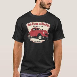 Camiseta Tira de la fricción de la roca pulida