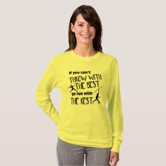 Camiseta Tiro de jabalina con la manga larga de las Mejores