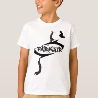 Camiseta Tirón abstracto de Parkour