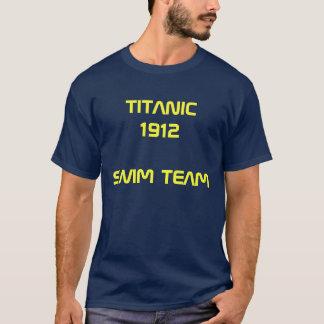 CAMISETA TITANIC 1912 SWIM TEAM