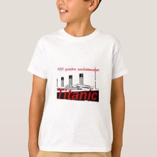 Camiseta Titánico: 100 años de subacuático