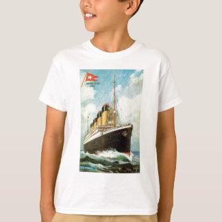 Camiseta Titánico en el mar embroma T