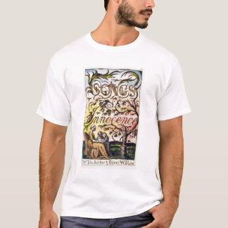 Camiseta Titlepage de 'canciones de la inocencia y de