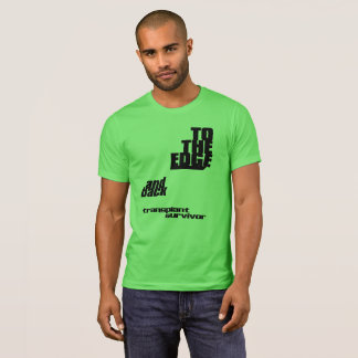 Camiseta To The Edge y parte posterior - superviviente del