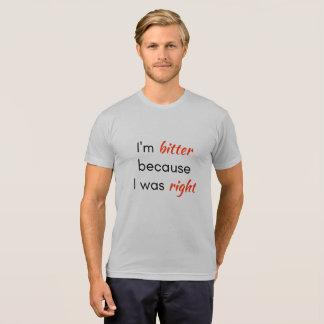 camiseta todavía derecha - derecho cabida