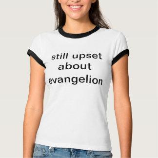 Camiseta todavía trastornado sobre el evangelion