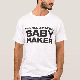 Camiseta Todo el fabricante asombroso del bebé