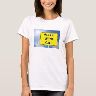 Camiseta Todo hace propiedad escudo con fondo de cielo