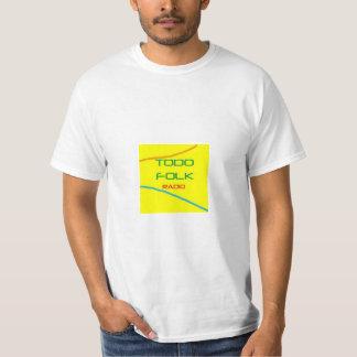 Camiseta Todofolk radio.