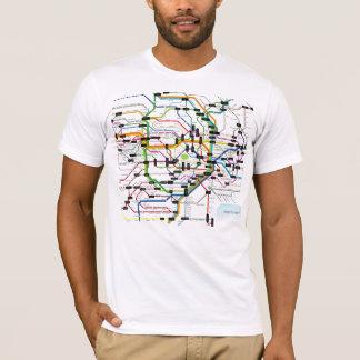 Camiseta Tokio-subterráneo