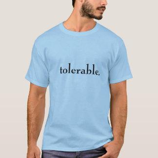 Camiseta tolerable
