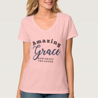 Camiseta ¡Tolerancia asombrosa, cómo es dulce el sonido!