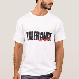 Camiseta Tolerancia vendida hacia fuera