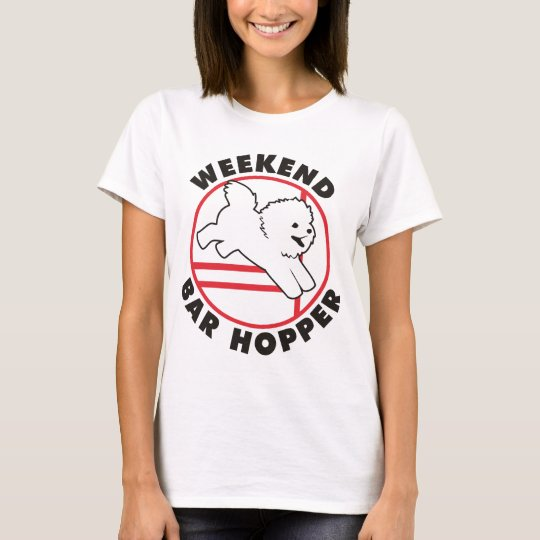 Camiseta Tolva de la barra del fin de semana de la agilidad