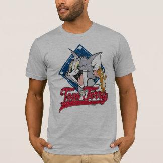 Camiseta Tom y Jerry el   Tom y Jerry en diamante de