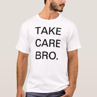 Camiseta Tome el cuidado Bro (TCB)