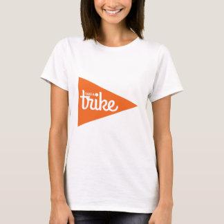 Camiseta Tome una bandera de Trike: Trike reclinado