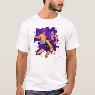 Camiseta tonal de la raya de las señoras del