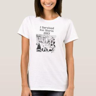 Camiseta Tormenta de hielo 2013