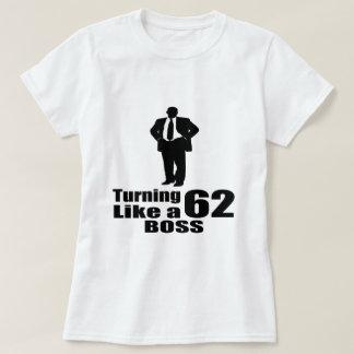 Camiseta Torneado de 62 como Boss