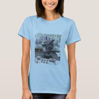 Camiseta toro en una tienda de China