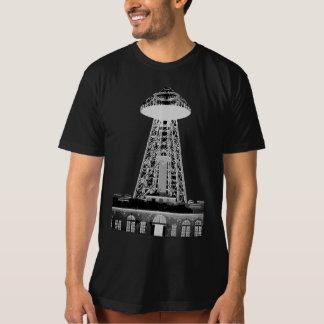 Camiseta Torre de Wardenclyffe - antes y después
