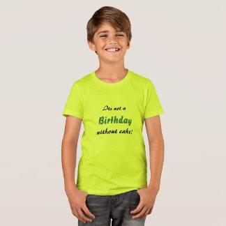Camiseta ¡Torta de cumpleaños!