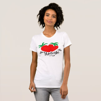 Camiseta Torta de frutas de la fresa