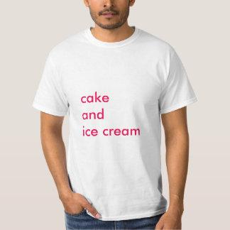Camiseta Torta y helado