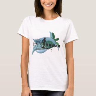 Camiseta Tortuga de Hawaii y practicar surf 195