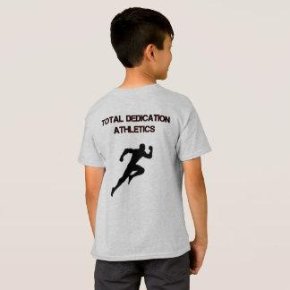 Camiseta total del atletismo del esmero