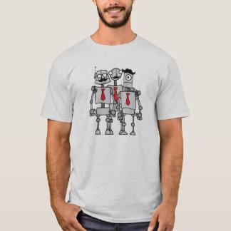 Camiseta Trabajadores del robot en una foto del grupo