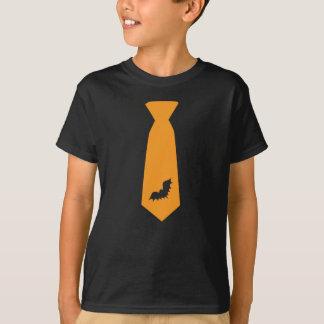 Camiseta Traje anaranjado de la corbata del palo de