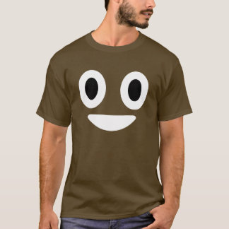 Camiseta Traje de Emoji Halloween del impulso