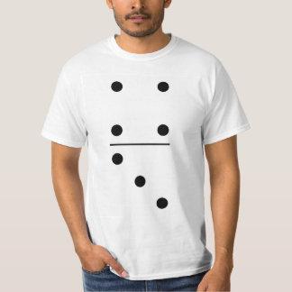 Camiseta Traje del grupo de los dominós 4-3