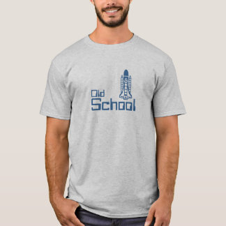 Camiseta Transbordador espacial de la escuela vieja