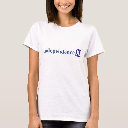Camiseta (trasera) de IndependenceX Ecosse Libre