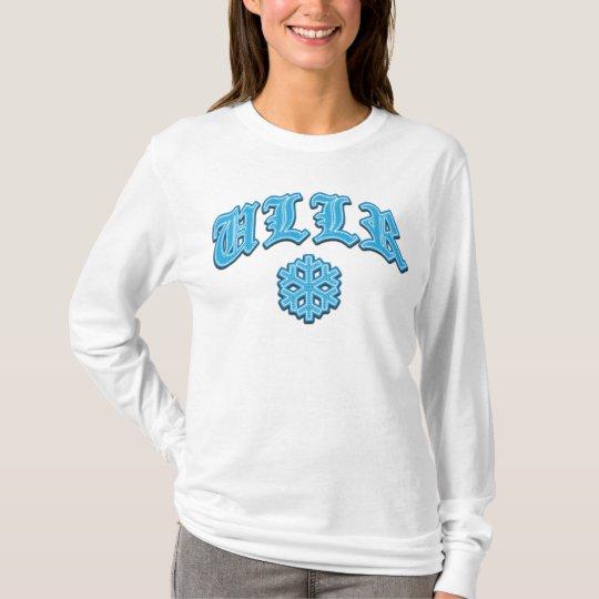 Camiseta Trastos y tela cruzada del copo de nieve de Ullr