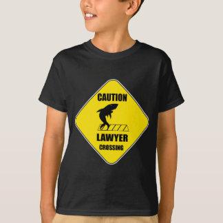 Camiseta Travesía del abogado con el tiburón