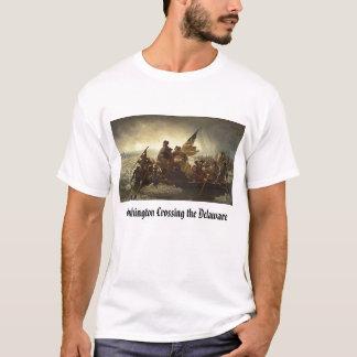 Camiseta travesía, Washington que cruza el Delaware