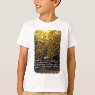 Camiseta Trayectoria del 16:11 del salmo