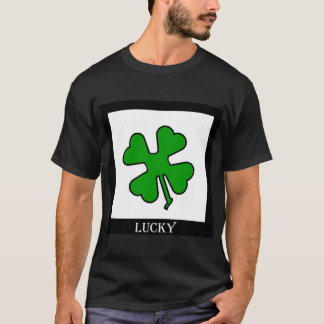 Camiseta Trébol de cuatro hojas (afortunado)